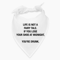 LIFE IS NOT A FAIRY TALE Caps