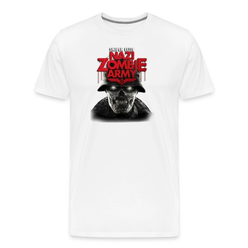 Sniper Elite v2 Nazi Zombie - Men's Premium T-Shirt