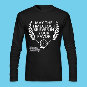 Hunger Swims- Men's American Apparel LS Tee - Men's Long Sleeve T-Shirt by Next Level