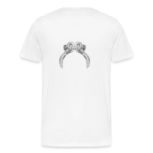 vertebrae - Men's Premium T-Shirt
