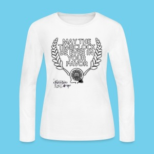 Hunger Swims- Women's LS Tee - Women's Long Sleeve Jersey T-Shirt