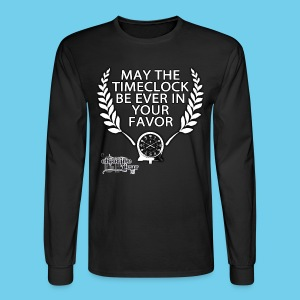 Hunger Swims- Men's LS Tee - Men's Long Sleeve T-Shirt