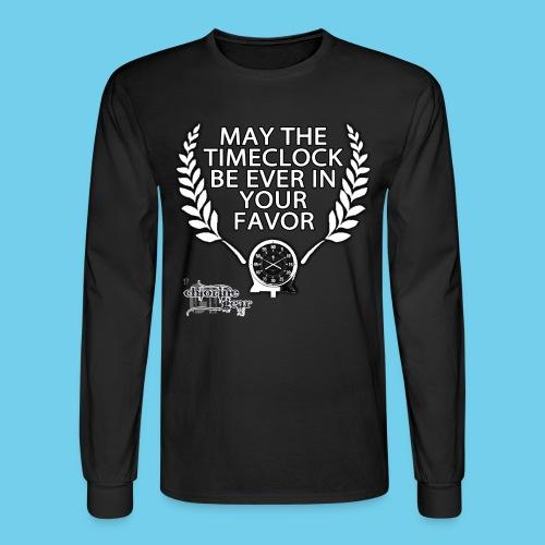 Hunger Swims- Men's LS Tee - Men's Long Sleeve T-Shirt