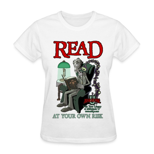 Read At Your Own Risk - Women's T-Shirt