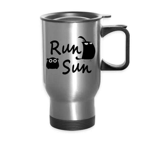 Run Sun Travel Mug - Travel Mug