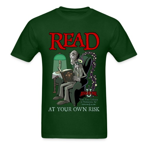 Read At Your Own Risk - Men's T-Shirt