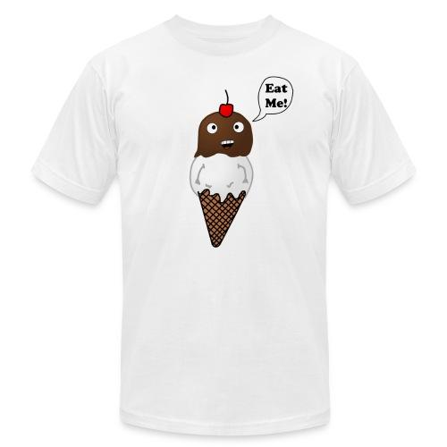 Eat Ice Cream Tee - Men's Fine Jersey T-Shirt