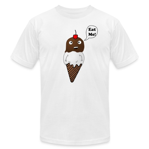 Eat Ice Cream Tee - Men's  Jersey T-Shirt