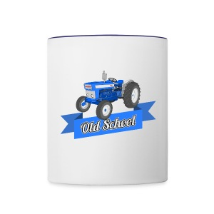 Old School Tractor Coffee Mug - Contrast Coffee Mug