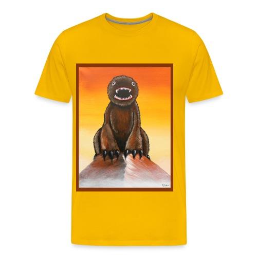 The Mountainest Monster - Men's Premium T-Shirt