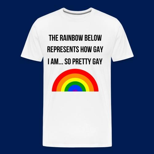 The gay shirt - Men's Premium T-Shirt
