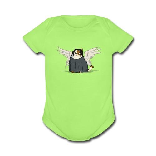 Snapeotron — Friday Cat №39 - Organic Short Sleeve Baby Bodysuit