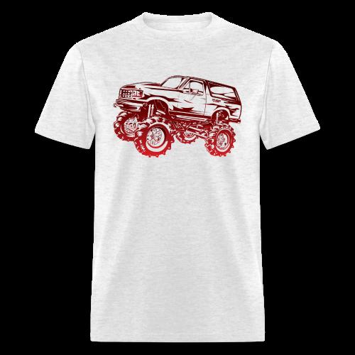 Red Mega Ford Bronco Shirt - Men's T-Shirt