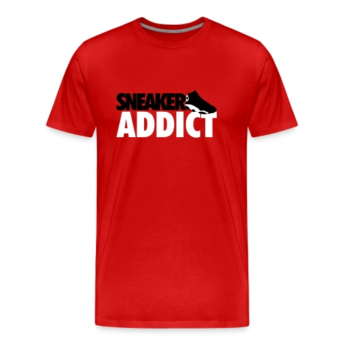 Sneaker Addict-TShirt - Men's Premium T-Shirt