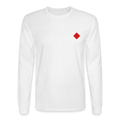 Free Spirit L/S (White) - Men's Long Sleeve T-Shirt