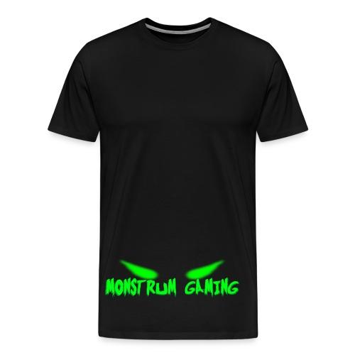 Monstrum gaming Logo - Men's Premium T-Shirt