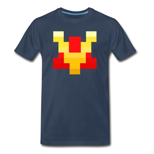 Pixel V - Men's Premium T-Shirt