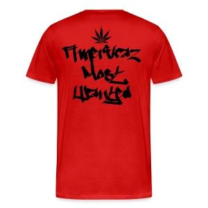 Amerikaz Most Wanted T - Men's Premium T-Shirt