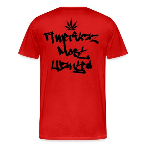 Amerikaz Most Wanted T - Men's Premium T-Shirt