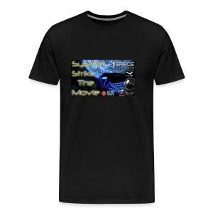 System Strike Thumbail Logo T-shirt - Men's Premium T-Shirt