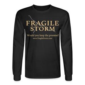 Men's Long Sleeve - Fragile Storm Crew - Men's Long Sleeve T-Shirt
