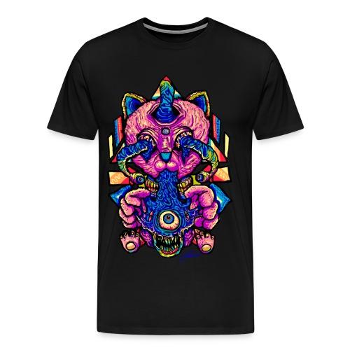 Infected Cat - Men's Premium T-Shirt