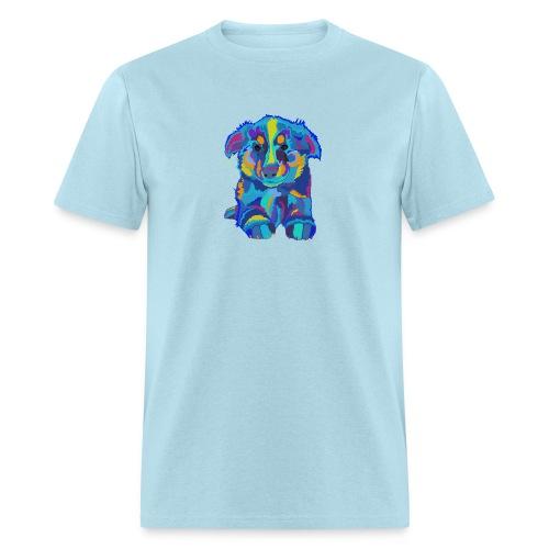 Colorful Collie - Men's T-Shirt