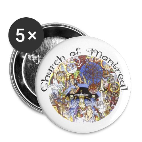 Church of Montreal Button Pack Large - Large Buttons