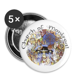 Church of Montreal Button Pack Small - Small Buttons