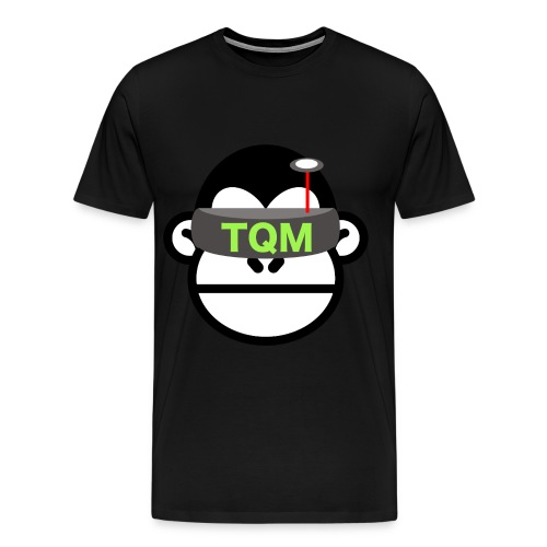 Team Quad Monkey Black T-Shirt - Men's Premium T-Shirt