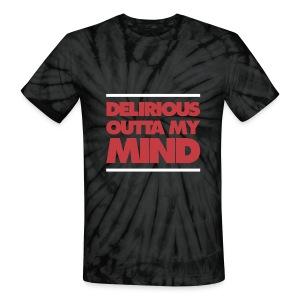 Delirious Tie Dye - T-shirt - Unisex Tie Dye T-Shirt