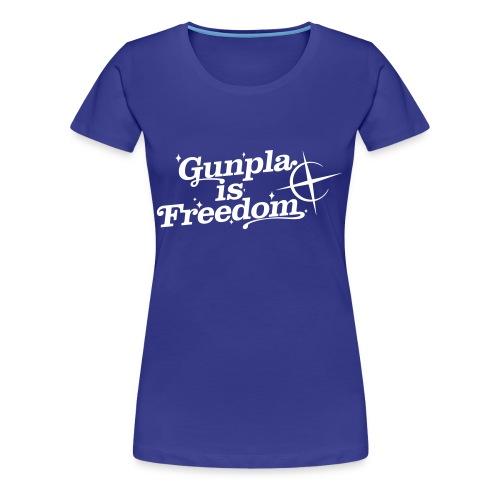 Freedom Women's T-shirt  —Zeta Blue - Women's Premium T-Shirt