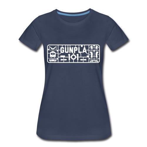 Gunpla 101 Women's T-shirt — Iori Navy - Women's Premium T-Shirt
