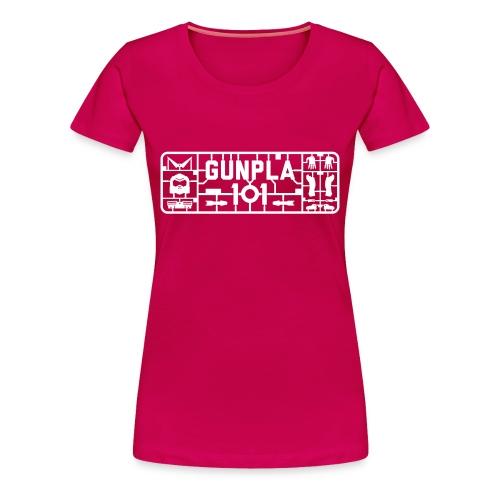 Gunpla 101 Women's T-shirt — Trans Am Pink - Women's Premium T-Shirt