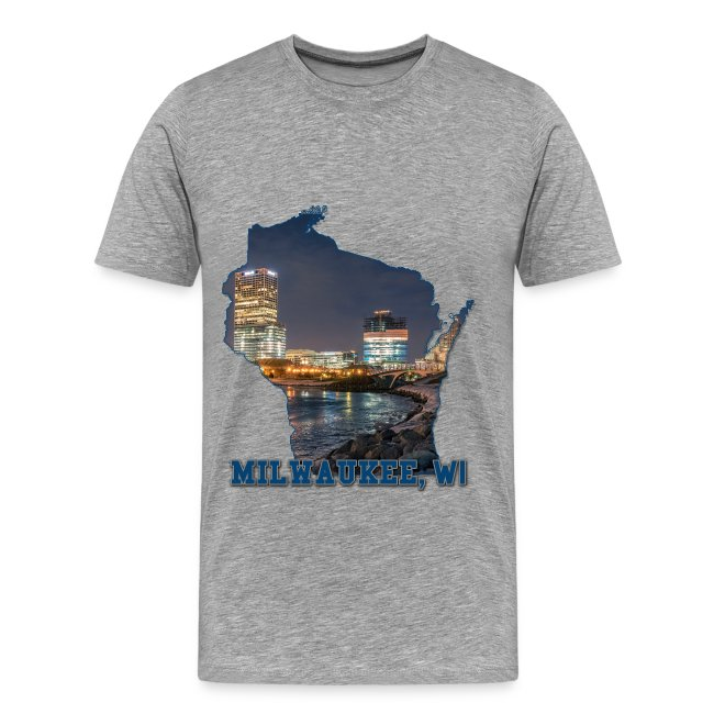 Downtown Milwaukee Winter