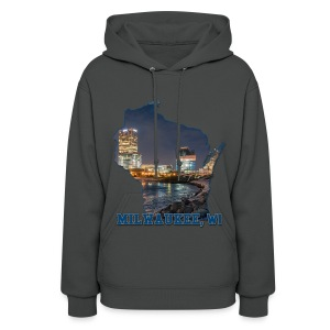 Downtown Milwaukee Winter - Women's Hoodie