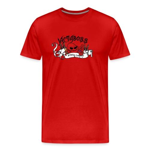 Jactaboss Logo Shirt - Men's Premium T-Shirt