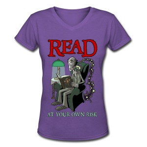 Read At Your Own Risk - Women's V-Neck T-Shirt