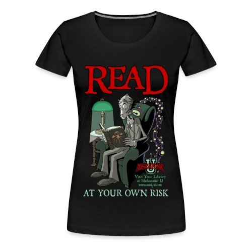 Read At Your Own Risk - Women's Premium T-Shirt