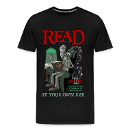 T-Shirts ~ Men's Premium T-Shirt ~ Read At Your Own Risk