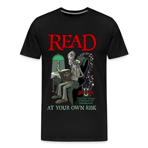 Read At Your Own Risk - Men's Premium T-Shirt