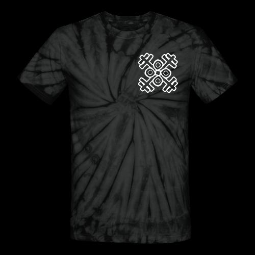Crest Tie Dye - Unisex Tie Dye T-Shirt