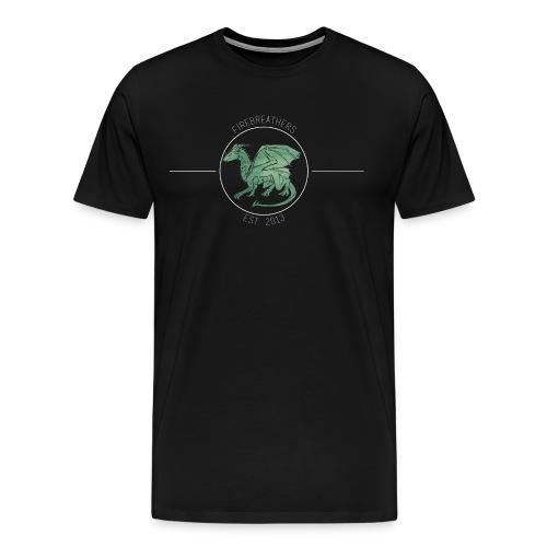 MEN'S BLACK Will Wells 2016 Firebreathers Shirt - Men's Premium T-Shirt