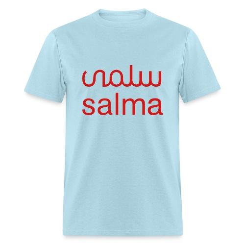 Salma Mens T-Shirt Blue - Men's T-Shirt