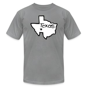 To the Alamo! by Rocktane Clothing - Men's Fine Jersey T-Shirt