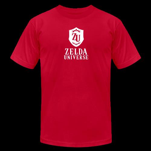 Zelda Universe Logo Men's Tee (Goron Red) - Men's  Jersey T-Shirt