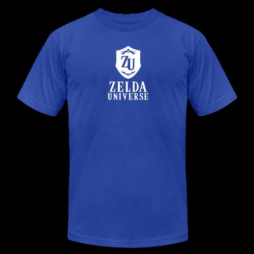 Zelda Universe Logo Men's Tee (Zora Blue) - Men's  Jersey T-Shirt