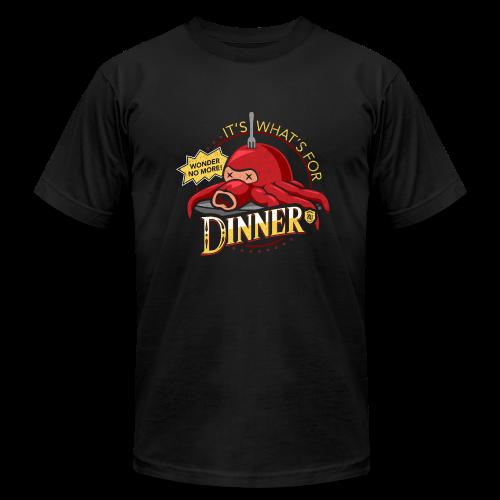 Artist Series - It's What's for Dinner by Cory Freeman (Men's Tee) - Men's Fine Jersey T-Shirt