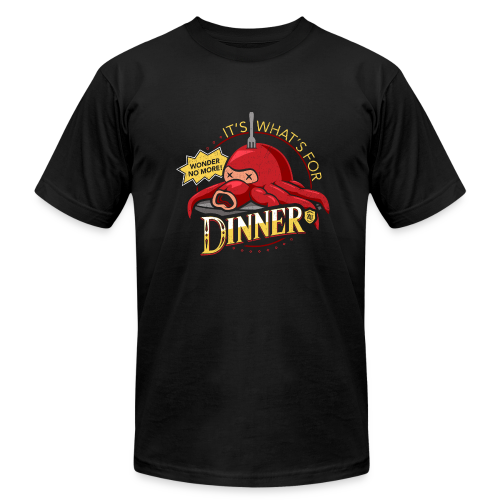 Artist Series - It's What's for Dinner by Cory Freeman (Men's Tee) - Men's Fine Jersey T-Shirt