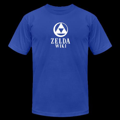 Zelda Wiki Logo Men's Tee (Zora Blue) - Men's  Jersey T-Shirt